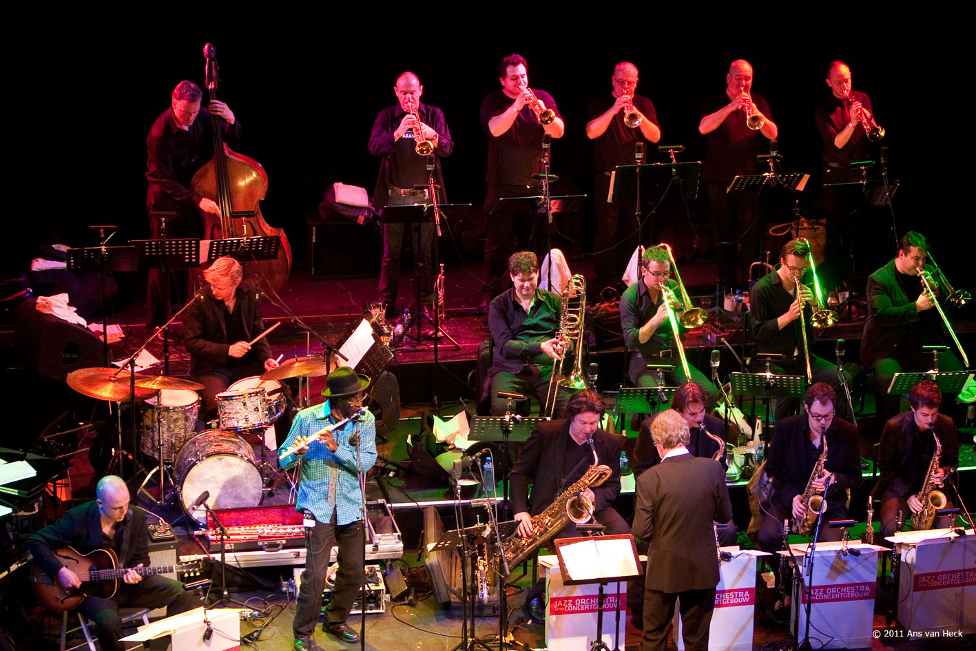 Jazz Orchestra of the Concertgebouw at Paradiso, May 2011.